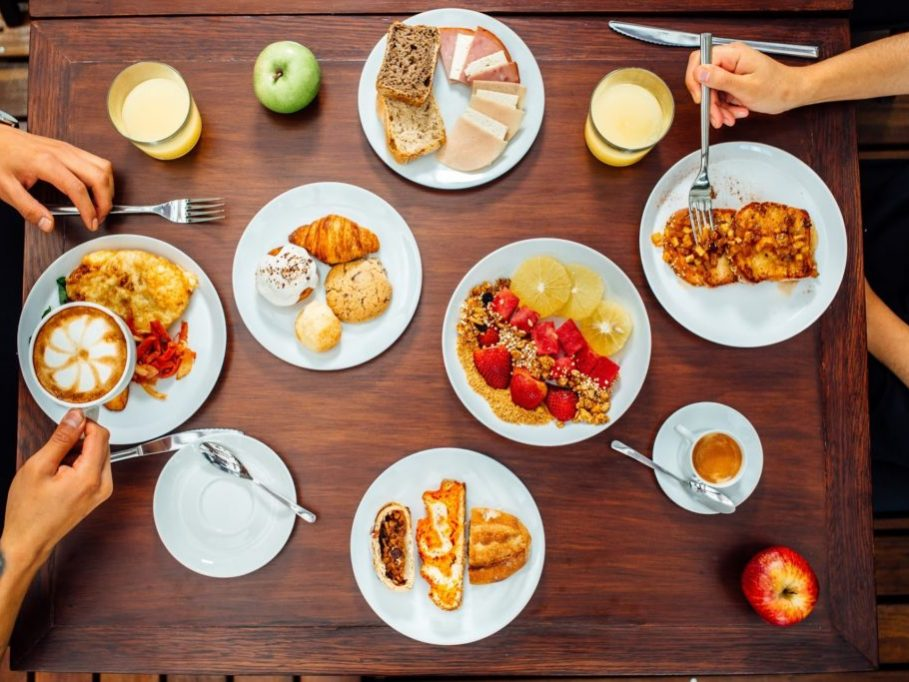 Breakfast at Atix. [Buffet].